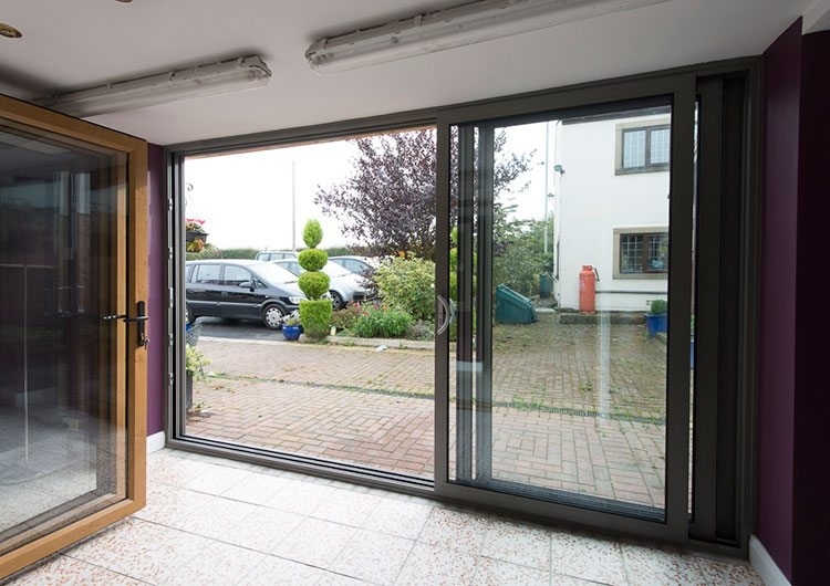 Triple doors full image for used sliding patio doors for for Double glazed patio doors sale