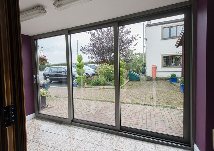 Triple Track Patio Doors Associated Glass