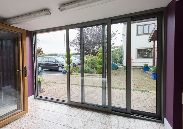 Triple Track Patio Doors Associated Glass - Triple patio door